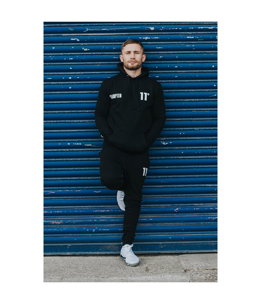 Frampton Core Pull Over Hoodie Black