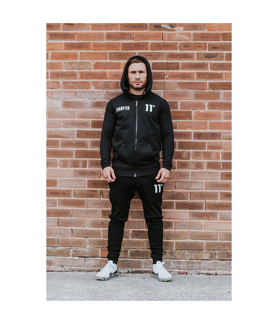 Frampton Core Zip Up Hoodie Black