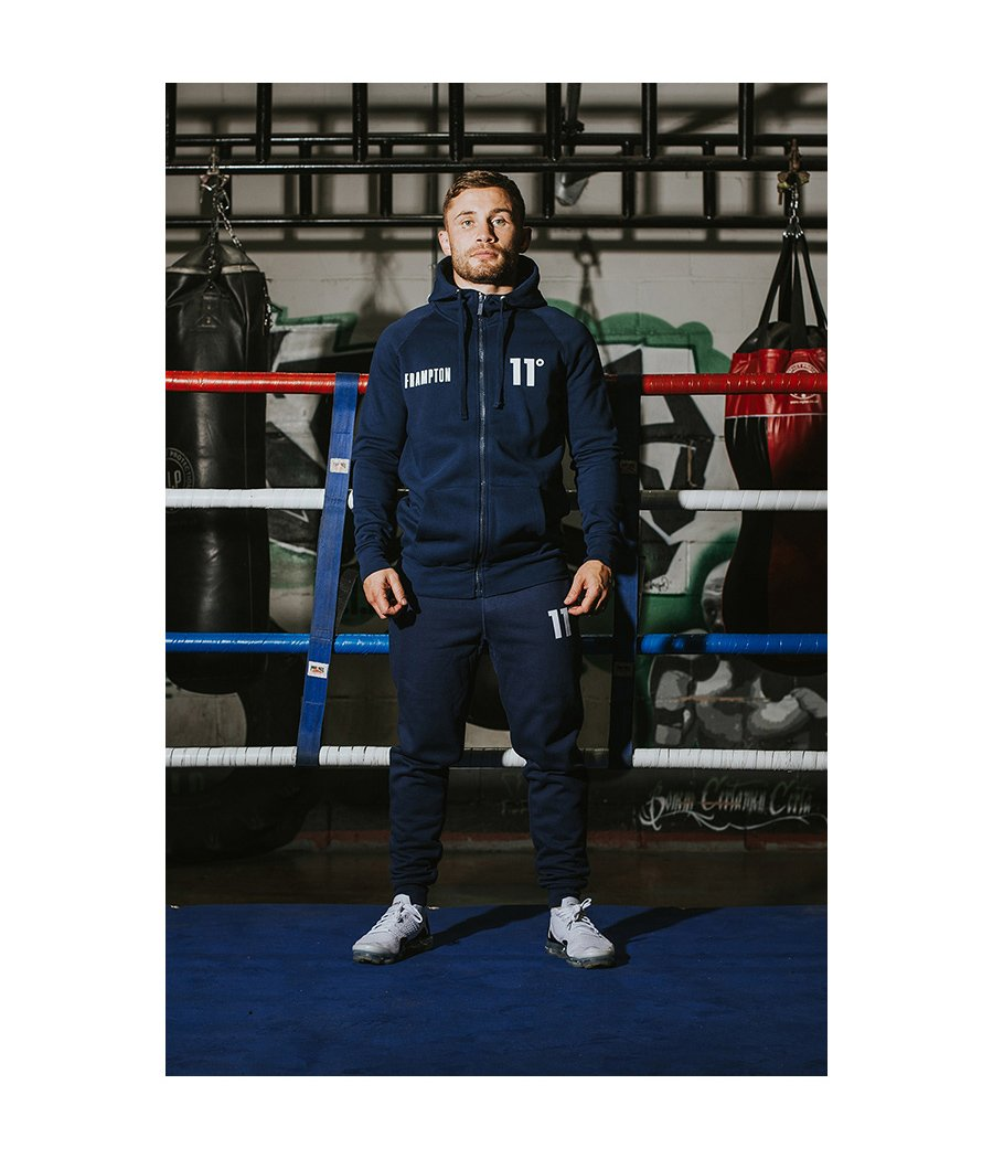 Frampton Core Zip Up Hoodie Navy