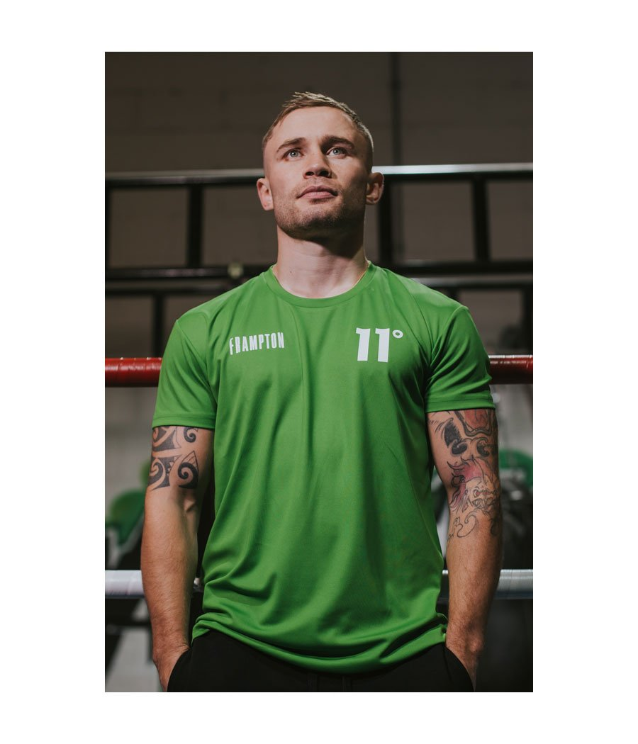 Frampton Poly Training T-Shirt Green
